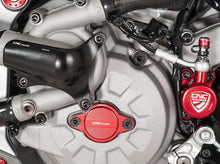 "CF861 - CNC RACING Ducati Timing Inspection Cover ""Streaks"""