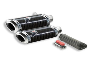 TERMIGNONI Ducati Streetfighter 1098/848 Carbon Dual Slip-on Exhaust (racing)