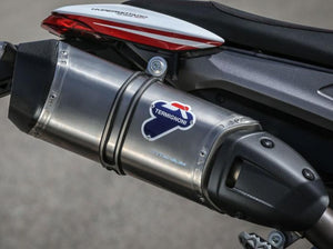 Ducati Hypermotard 821 High Mount Slip-on Silencer by TERMIGNONI