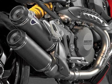TERMIGNONI Ducati Monster 1200 Dual Carbon Slip-on Exhaust