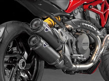Ducati Monster 821 Carbon Slip-on Silencers by TERMIGNONI