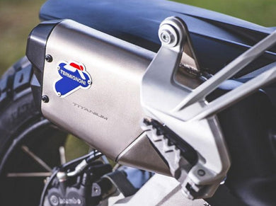 Ducati Multistrada 950 / Enduro Titanium Slip-on Exhaust System by TERMIGNONI