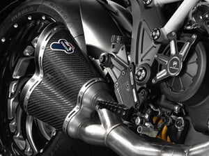 Ducati Diavel Full Exhaust System by TERMIGNONI
