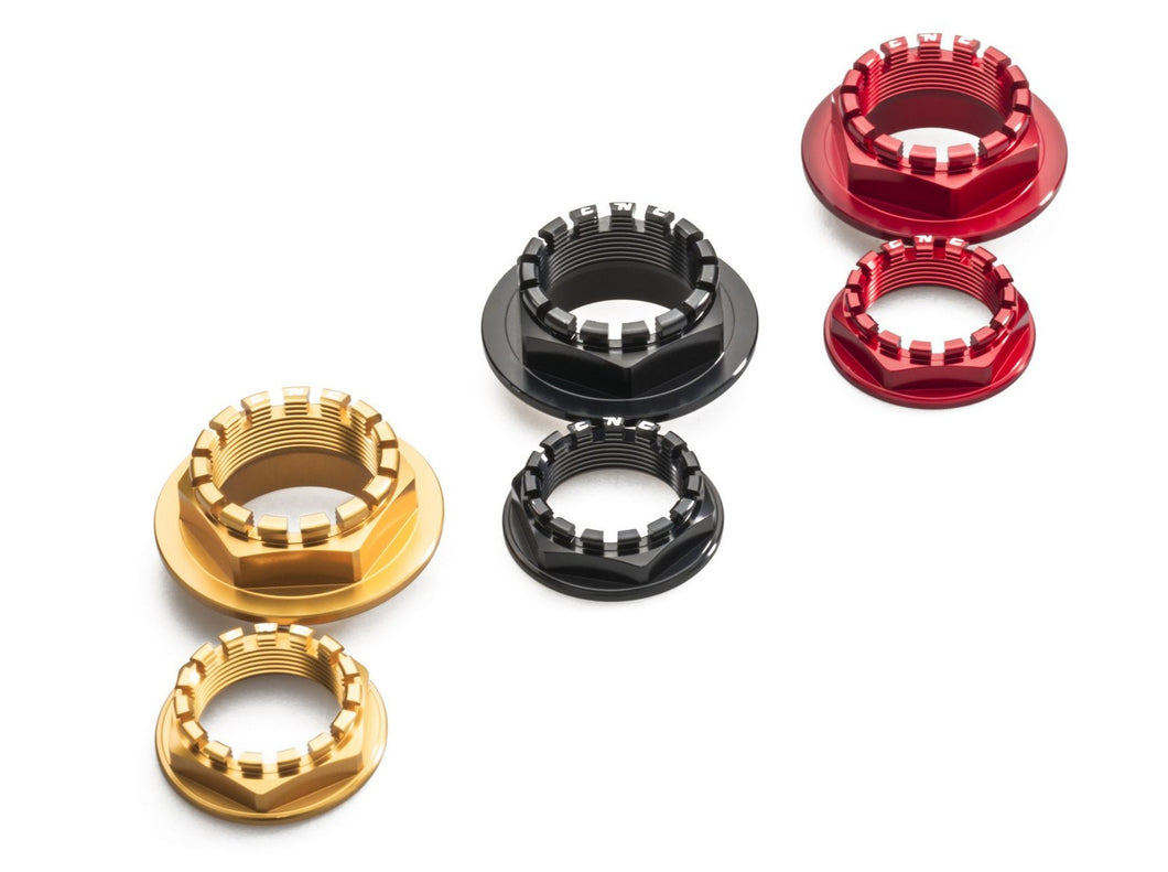 DA382 - CNC RACING Ducati Rear Wheel Axle Nuts set