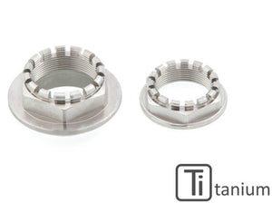 DA382X - CNC RACING Ducati Titanium Rear Wheel Axle Nuts set