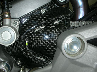 CARBONVANI Ducati Monster Carbon Front Sprocket Cover