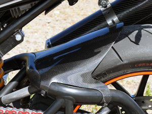 CARBONVANI Ducati Monster Carbon Rear Mudguard