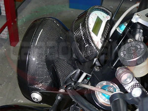 CARBONVANI Ducati Monster Carbon Headlight Cover