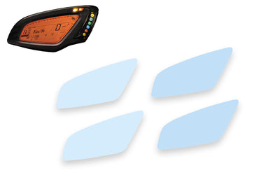 DP025 - CNC RACING MV Agusta Dashboard Screen Protectors kit
