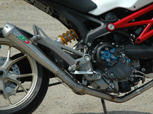 "QD EXHAUST Ducati Monster 796 Full Exhaust System ""MaXcone"" (EU homologated)"