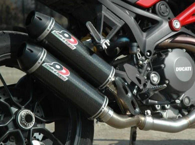 QD EXHAUST Ducati Monster 1200/821