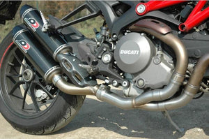"QD EXHAUST Ducati Monster 1200/821 Dual Exhaust System ""Magnum"" (EU homologated)"