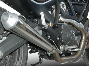 "QD EXHAUST Ducati Scrambler 800 ""MaXcone"" Low Mount Full Exhaust System (EU homologated)"