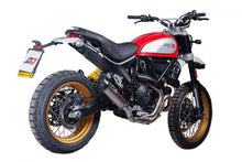 "QD EXHAUST Ducati Scrambler Desert Sled Semi-Full Exhaust System ""Tri-cone"" (Silencer + Link Pipe)"