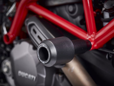 EVOTECH Ducati Hypermotard Frame Crash Protection Sliders