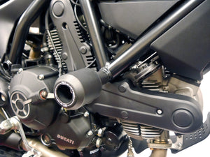 EVOTECH Ducati Scrambler 400 Sixty2 Frame Crash Protection Sliders