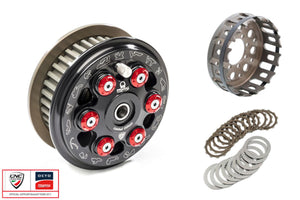 "FR365PR - CNC RACING Ducati 6 Springs Slipper Clutch ""Master Tech"" (full kit, 12 teeth organic plates; Pramac Racing Limited Edition)"