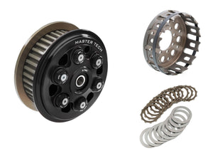 "FR365 - CNC RACING Ducati 6 Springs Slipper Clutch ""Master Tech"" (full kit, 12 teeth organic discs)"