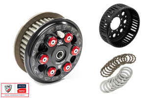 "FR371PR - CNC RACING Ducati 6 Springs Slipper Clutch ""Master Tech"" (full kit, 48-teeth sintered plates; Pramac Racing Limited Edition)"