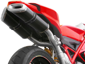 "SPARK Ducati Superbike 848/1098 Full Titanium Exhaust System ""Rectangular"" (racing)"
