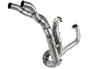 SPARK Ducati Superbike 848/1098 Titanium Exhaust Collector (racing)
