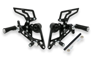 PE170 - CNC RACING Ducati Monster S4R/S4RS/S2R Adjustable Rearset