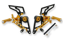 PE100 - CNC RACING Ducati Monster 1100/696/796 Adjustable Rearset
