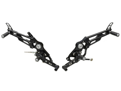 PE445 - CNC RACING Ducati Scrambler / Monster 797 Adjustable Rearset