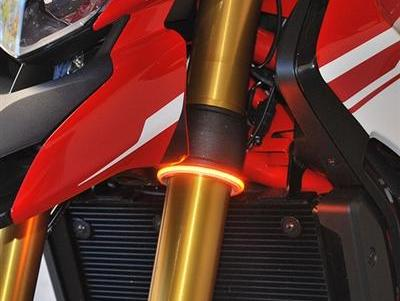 NEW RAGE CYCLES Universal LED Front Turn Signals