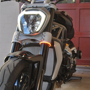"NEW RAGE CYCLES Universal LED Front Turn Signals ""Rage360"""
