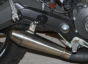 NEW RAGE CYCLES Ducati Scrambler 800 Slip-on Exhaust (Polished)