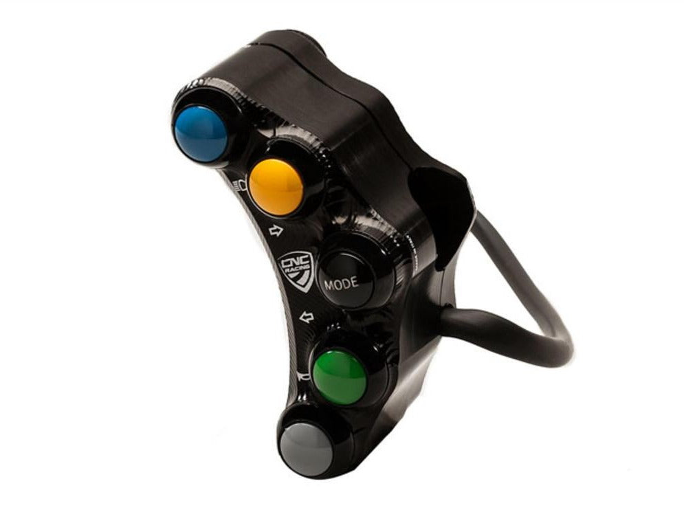 SWD01 - CNC RACING Ducati 7 Buttons Left Handlebar Switch (street edition)