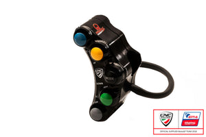 SWD02PR - CNC RACING Ducati 6 Buttons Left Handlebar Switch (Pramac edition; racing)