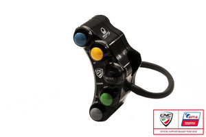 SWD12PR - CNC RACING Ducati Panigale V4 7 Buttons Left Handlebar Switch (Pramac edition; racing)