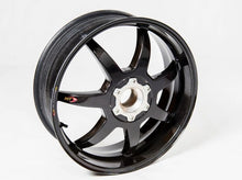 "BST Ducati Superbike 916/748/996/998 Carbon Wheel ""Mamba TEK"" (offset rear, 7 straight spokes, silver hubs)"