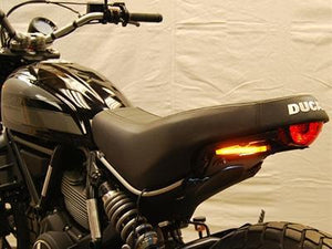 NEW RAGE CYCLES Ducati Scrambler 400 Sixty2 LED Tail Tidy Fender Eliminator