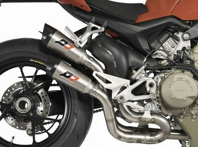 QD EXHAUST Ducati Streetfighter V4 Dual Semi-Full Exhaust System