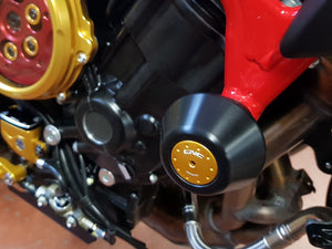 TC213 - CNC RACING MV Agusta Frame Crash Protectors
