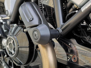 TC214 - CNC RACING Ducati Scrambler 1100 / Monster 797 Frame Crash Protection Sliders
