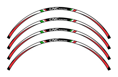 WK001 - CNC RACING Wheel Stripes kit (17'')
