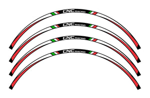 CNC RACING Wheel Stripes kit (17'')