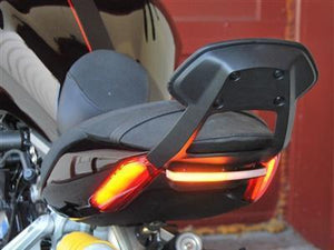 NEW RAGE CYCLES Ducati XDiavel LED Rear Turn Signals (backrest compatible)