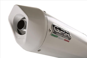"GPR Ducati Monster 1200 Slip-on Exhaust ""Albus Ceramic"" (EU homologated)"