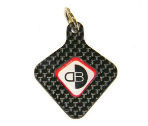 DUCABIKE Carbon Key Chain