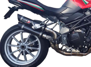 "QD EXHAUST MV Agusta Brutale 910/1090 Dual Slip-on Exhaust ""Magnum"" (EU homologated)"