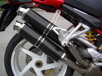 SPARK Ducati Monster S2R / S4R Slip-on Exhaust