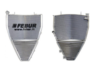 FEBUR MV Agusta F4 1000 (10/19) Complete Racing Water and Oil Radiator