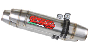 "GPR Ducati Monster 1100 Full Exhaust System ""Deeptone Inox"" (EU homologated)"