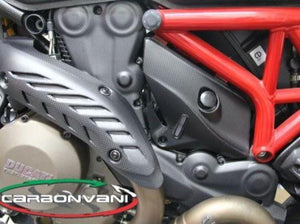 CARBONVANI Ducati Monster 1200/821 Carbon Timing Belt Cover