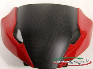 "CARBONVANI Ducati Monster 1200/821/797 Carbon Headlight Fairing ""Red"""
